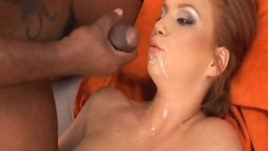 Electra Angel and Electra Angels plowed by Black Guy