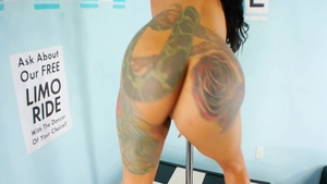 Solo inked and bubble butt Beauty Dior fucked in the ass