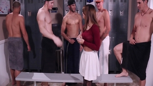 First time group sex with Sara Luvv
