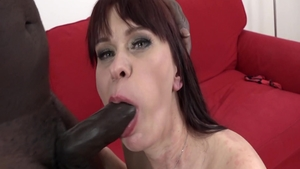 Horny MILF Noname Jane banging ass fucking anal interracial