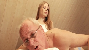 Surprise sex among young russian mature Alessandra Jane