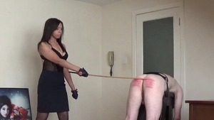 Domination nailing alongside dominatrix