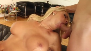 Gangbang accompanied by huge tits hungarian blonde haired