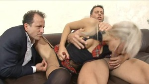 Blonde wishes for nailed rough HD