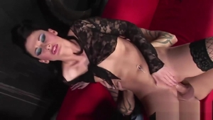 Slamming hard amongst hot brunette Lulu Martinez