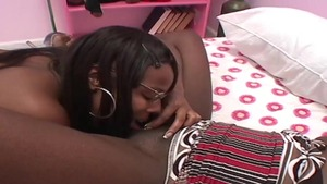 Ramming hard in the company of ebony amateur