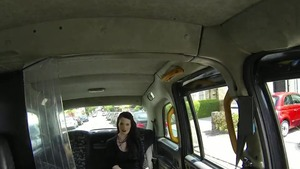Large boobs emo hard sucking cock in the car