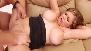 Large tits Katie Morgan has a passion for hard sex