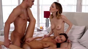 Plowing hard with very nice blonde haired