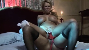 Eva Angelina in her lingerie with Carly Parker strapon
