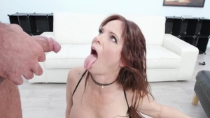 Ramming hard together with big tits chick Syren De Mer