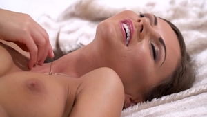 Large boobs & hottest MILF Tina Kay pussy fuck solo