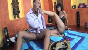 Gets cum in her pussy porno among hot reality Black Angel