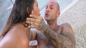 Cock sucking sex tape with petite rough May Thai