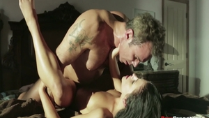 Rough deepthroat in the company of Adriana Chechik