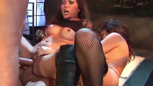 Loud sex in the company of incredible amateur