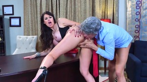 Busty mature Eva Karera has a thing for real fucking in HD