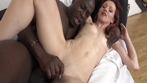 Katie Morgan together with Joachim Kessef reality sucking cock