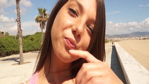 Young teen chick Foxy Di and big ass Foxi Di POV pussy eating