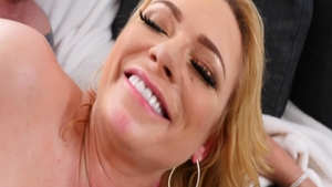 Charming blonde babe Briana Banks need gets slamming hard