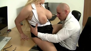 Big tits jumping on cock