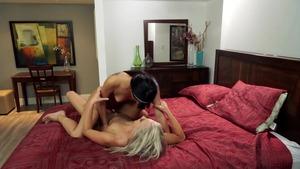 Raw sex together with Tiffany Watson in tandem with Zoe Parker