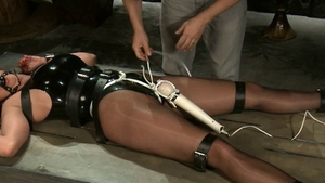 Stunning Christina Carter tied up