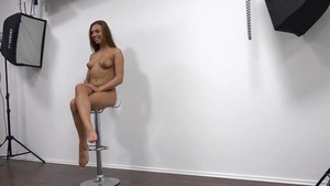 Fucked hard at the audition alongside too cute girl