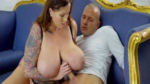 Busty Laura Orsolya agrees to plowing hard