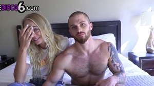 Busty missionary fucking