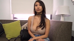 Titty fucking at the casting ebony in HD
