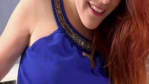Solo wet Amarna Miller spanish redhead toys action