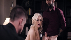 Kenzie Taylor with Tommy Pistol rough threesome