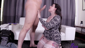 Hard slamming among BBW Maria Bose