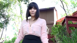Violet Starr hardcore ass to mouth porno