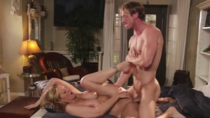 Ramming hard together with large boobs housewife Julia Ann