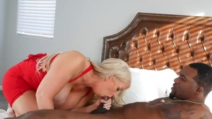 Big boobs blonde Alura Jenso lusts sex scene HD
