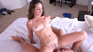 Teen chick Cassidy Klein finds dick to fuck