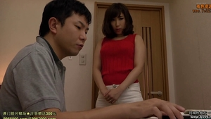 Big boobs japanese stepmom rushes tied up in mask HD