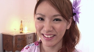 Hairy pussy japanese babe feels in need of ramming hard HD