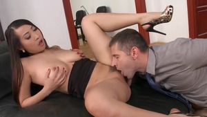 French Sharon Lee doggy fucks HD