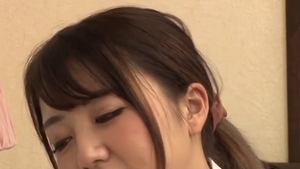 Small boobs asian teen pussy eating after school
