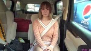Busty japanese sex toys in the car
