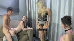 Hard nailining together with Ashley Fires & Anya Olsen