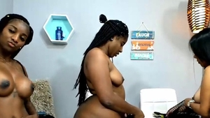 Thick & wet pussy BBW orgy