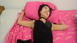 Slamming hard accompanied by young asian amateur