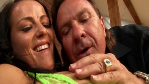 Ramming hard with large tits latina brunette