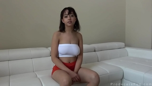 Raw dirty talk with trimmed pussy brunette Marilyn Mansion