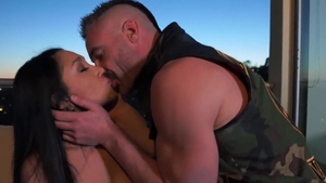Raw hard sex together with pornstar Vicki Chase