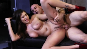 Big ass latina brunette Cassidy Banks wishes plowing hard